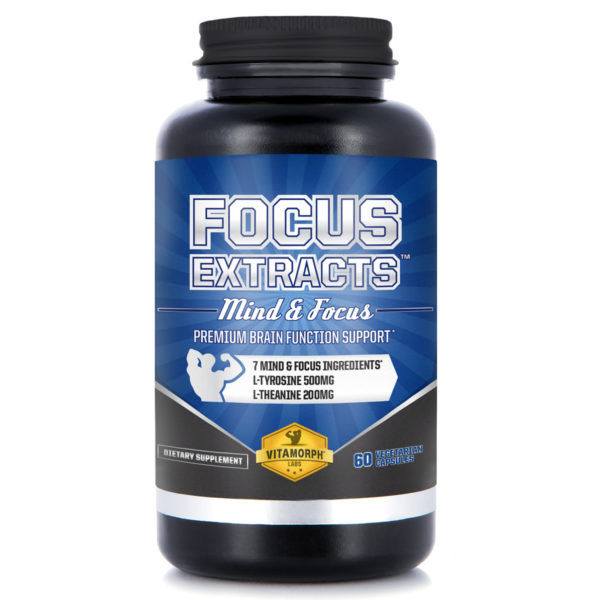 Focus Extracts Brain Health Nootropic (60 count)